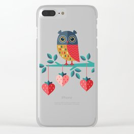 OWL ALWAYS LOVE YOU Clear iPhone Case