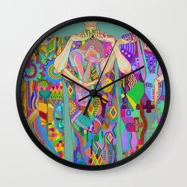 Villains Frieze Wall Clock