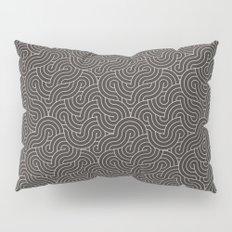 SWIRL / coffee Pillow Sham