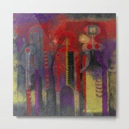 Three People by Rufino Tamayo Metal Print