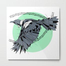 Tui Geometric Metal Print