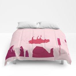 Pink coke. Comforters
