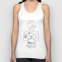 2pac Tank Tops featuring 2pac//goku by ΛDX7