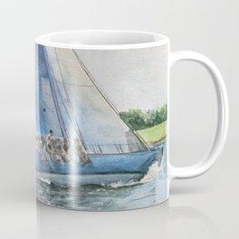Sailing on Columbia 12 US 16 Coffee Mug