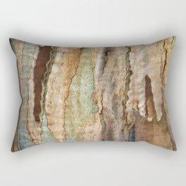 Eucalyptus Tree Bark and Wood Abstract Natural Texture 36 Rectangular Pillow
