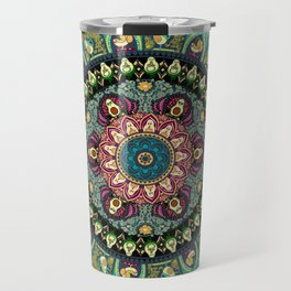 Avocado Yoga Medallion Travel Mug