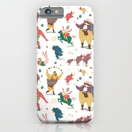 The Circus is coming to town! iPhone & iPod Case