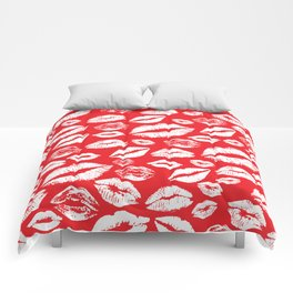 Lips 14 Comforters
