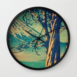 Late Hues at Hinsei Wall Clock