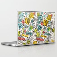 rush Laptop & iPad Skins featuring DON'T RUSH ME by Matthew Taylor Wilson
