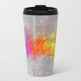 Colorsplash Metal Travel Mug