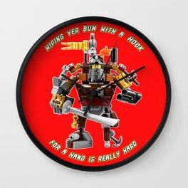 Metal Beard Wall Clock