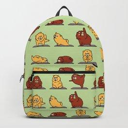 Chow Chow Yoga Backpack