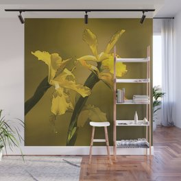 Golden Yellow Daffodils Wall Mural