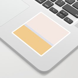 Summer Dream Color Block Sticker