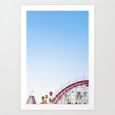 Santa Cruz Boardwalk Series 2 Art Print