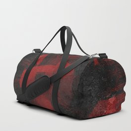 Red Flower 1 Duffle Bag