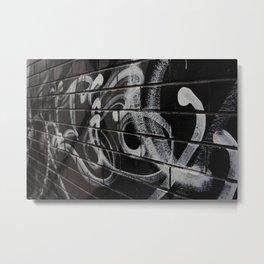Calligraffiti Metal Print