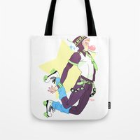 dmmd Tote Bags featuring Noiz by Sara Kipin