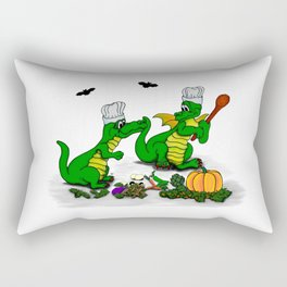 Dragons - Happy Halloween ! Today I will cook Rectangular Pillow