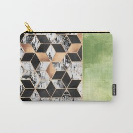 Birch Tree Cubes Carry-All Pouch