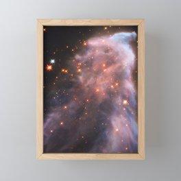 Ghost Nebula Framed Mini Art Print