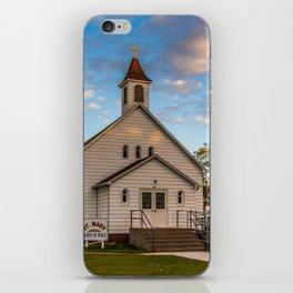 Former Wesleyan Methodist Church, Almont, North Dakota iPhone Skin