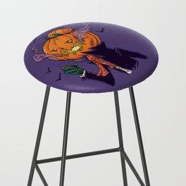 The Pumpkin Bun Bar Stool