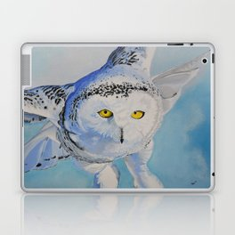 Snow Owl Laptop & iPad Skin