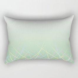 Borderline First Phase: Sharpened Childhood Rectangular Pillow