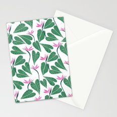 Tropical Forest Pattern Stationery Cards