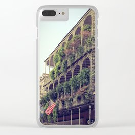 French Quarter Balconies - Royal Street Clear iPhone Case