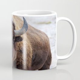 In The Presence Of Bison #society6 #decor #bison by Lena Owens @OLena Art Coffee Mug