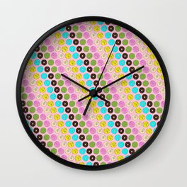 Donut Tell Me What To DO Wall Clock