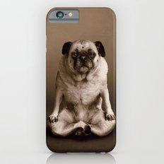 Pug the Yoga Doga Dog iPhone 6s Slim Case
