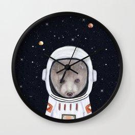 little space bear Wall Clock