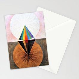 12,000pixel-500dpi - Hilma af Klint - The Swan, No.12, Group IX/SUW - Digital Remastered Edition Stationery Cards