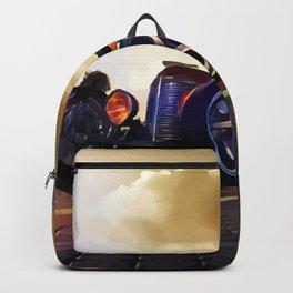 Hot Rod Sunday Backpack