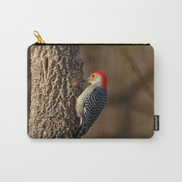 Red-Bellied Woodpecker Drumming Carry-All Pouch