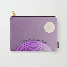 I AM The Creator of My World Carry-All Pouch