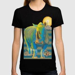 Rhino, Water Boy aka Puddles T-shirt