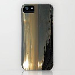 Cromer's setting sun and Sundog iPhone Case