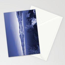 Surreal Landscape - Pahranagat NWR, Nevada Stationery Cards