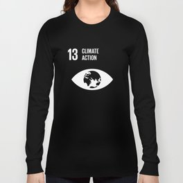 13 Climate Action Global Goals  Long Sleeve T-shirt