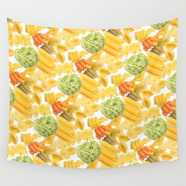 Pasta Pattern Wall Tapestry