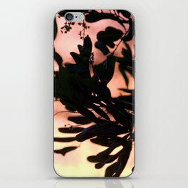 silver lake sunset iPhone Skin