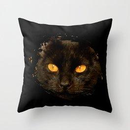 DARK DELIGHT Throw Pillow