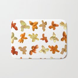 Orange Peel Party Bath Mat