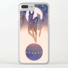 Spheres Clear iPhone Case