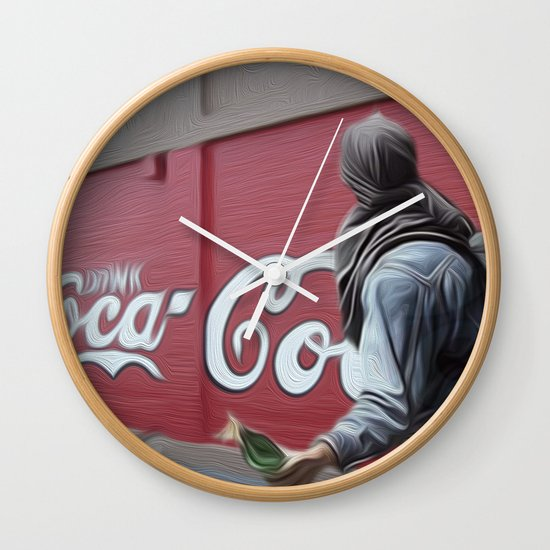 Coca Cola Wars Wall Clock